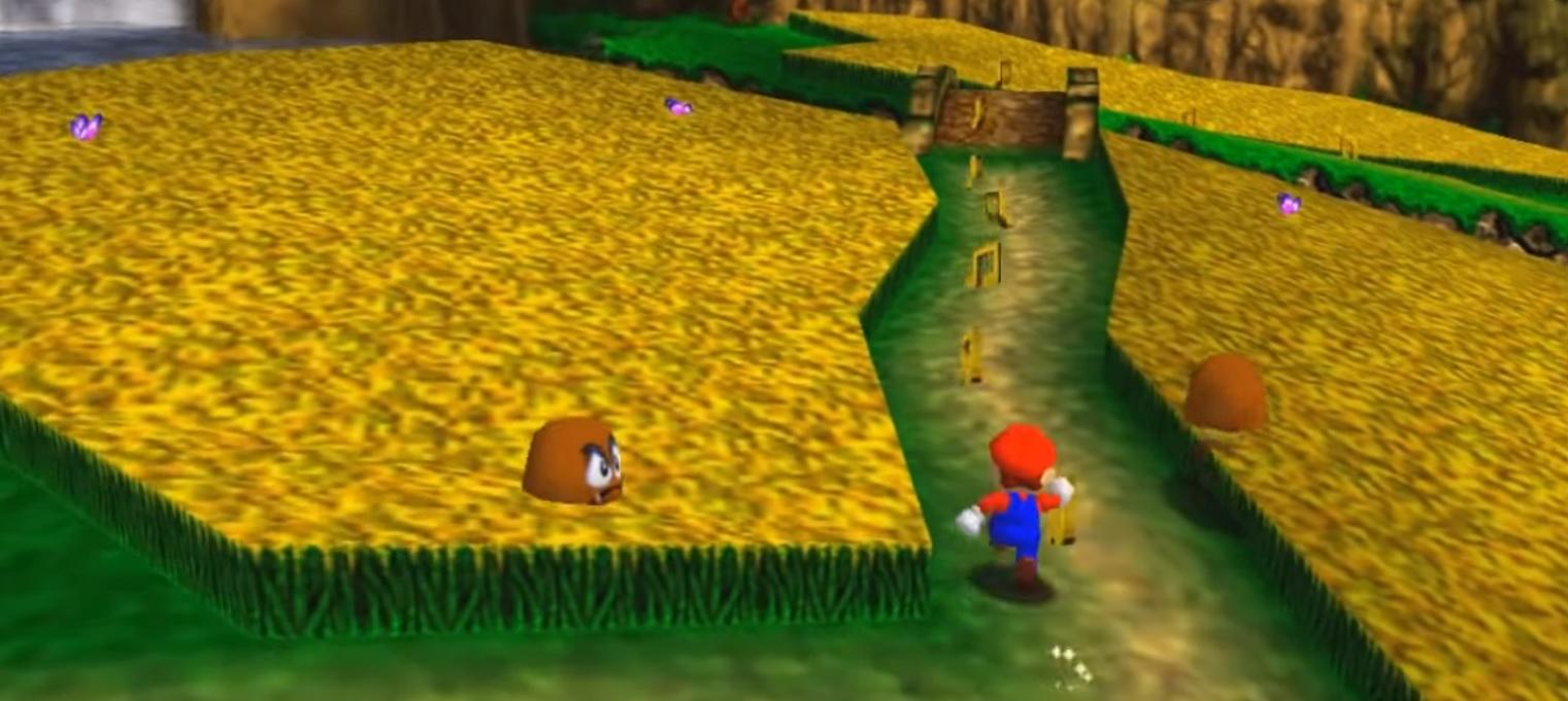 This mod crosses Mario 64 with Banjo-Kazooie screenshot