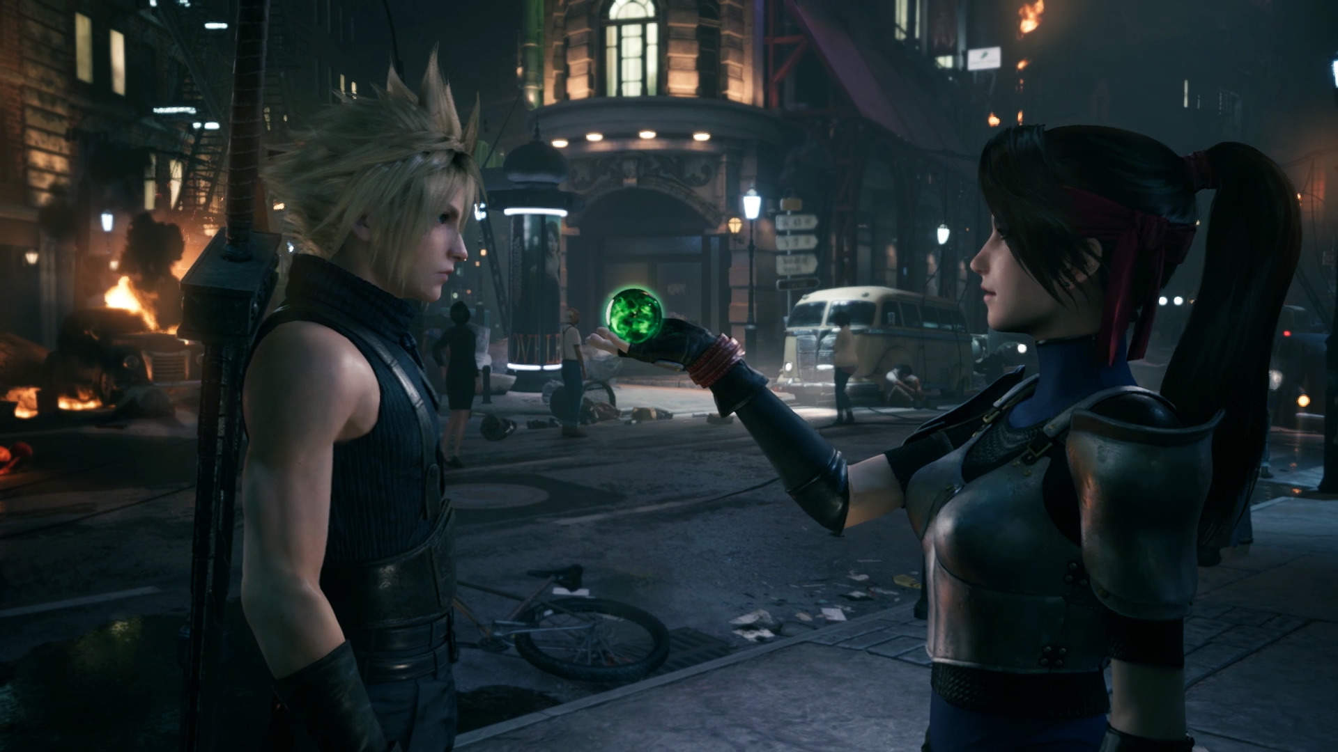 Square Enix dives further into how combat works in Final Fantasy VII Remake screenshot
