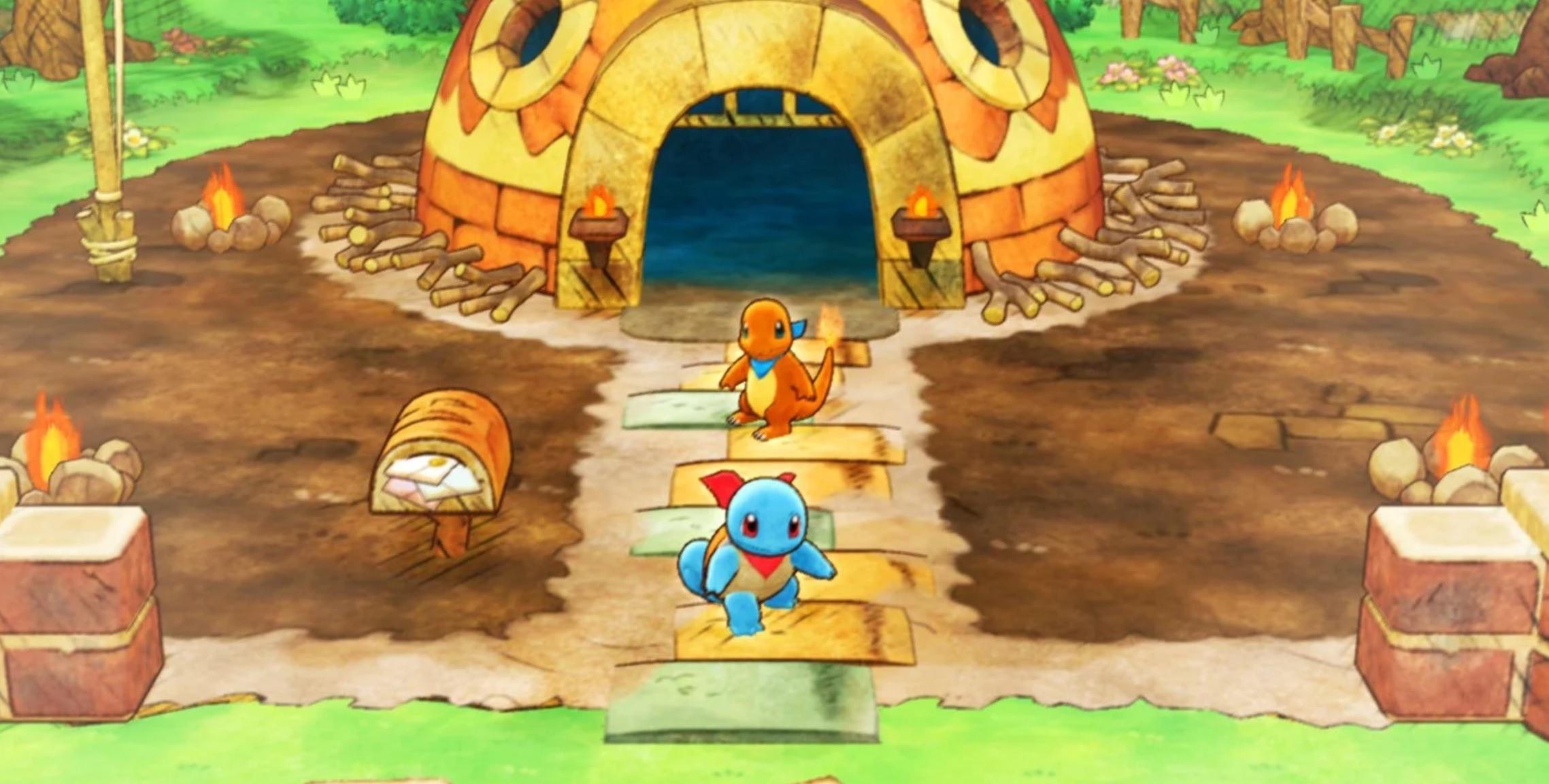 Nintendo Download: Pokemon Mystery Dungeon: Rescue Team DX screenshot