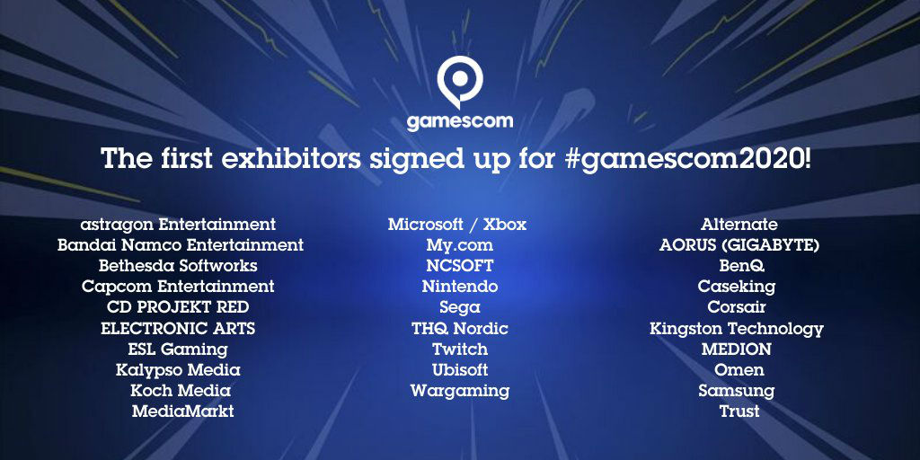 Gamescom is still happening this year, as far as we know screenshot