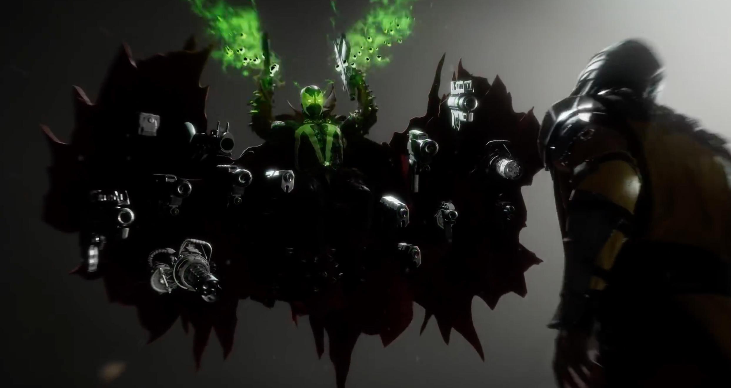 Spawn looks like one demonic addition to Mortal Kombat 11 screenshot