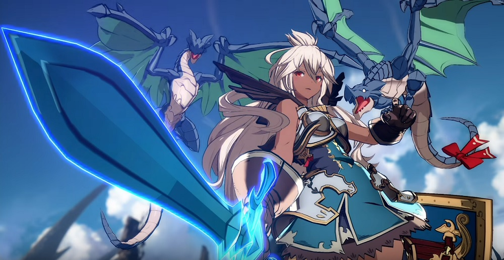 Zooey looks like one angelic addition to Granblue Fantasy: Versus screenshot