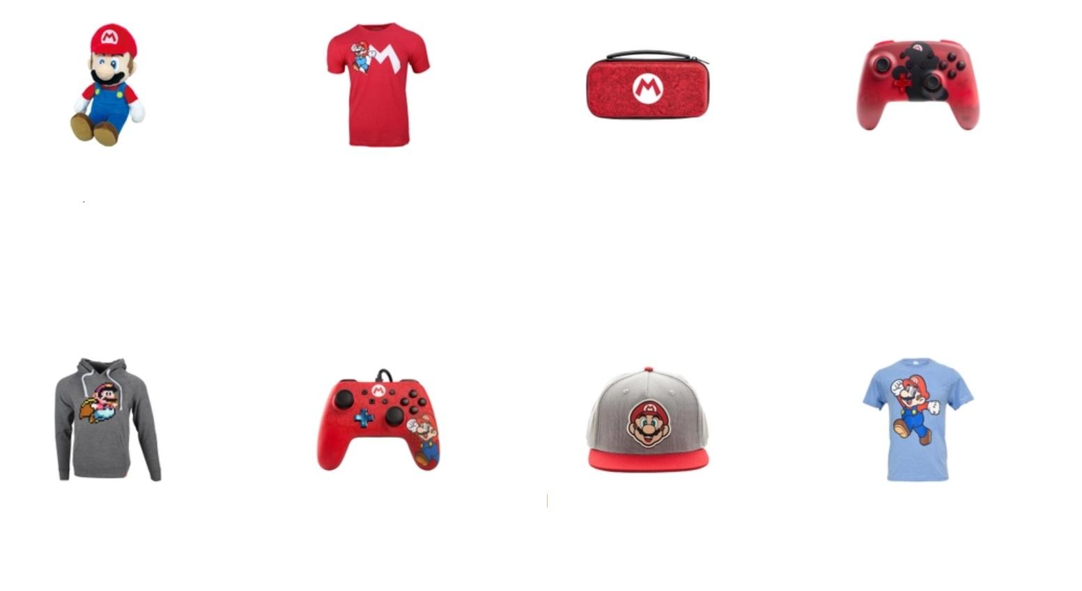 Nintendo is offering a 20% discount on Mario merch through My Nintendo screenshot