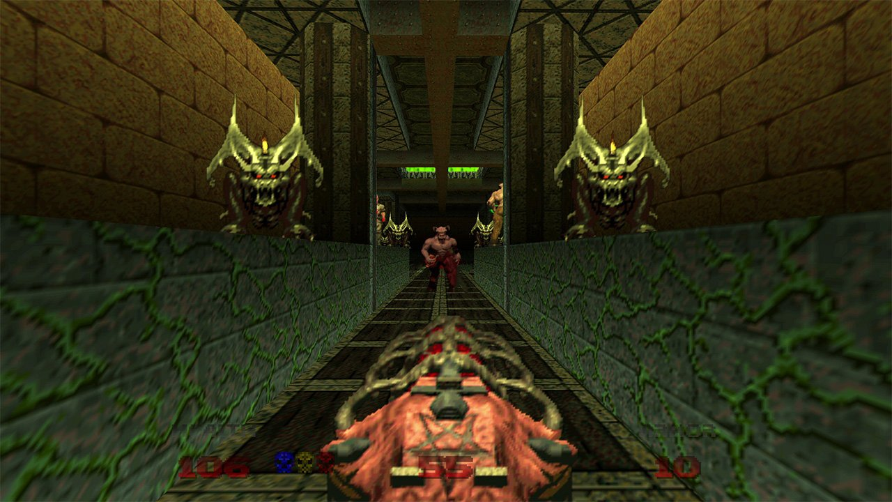 Doom 64 has a new-for-2020 bonus chapter screenshot
