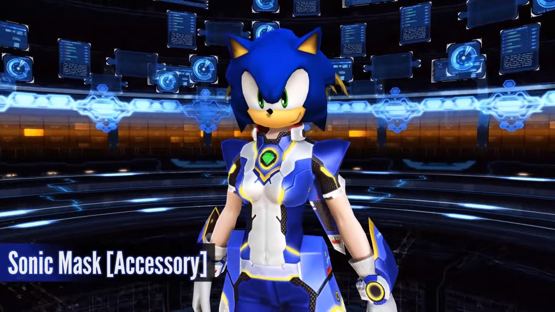 Phantasy Star Online 2's $60 founder's pack dresses you up like Sonic screenshot
