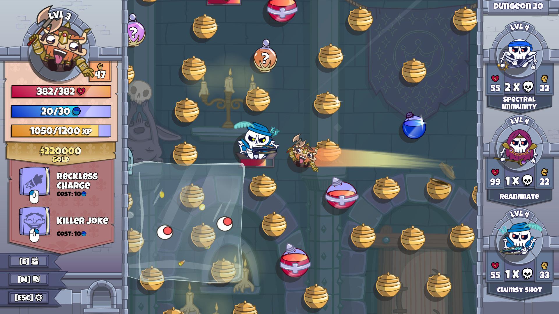 Roundguard is a smart roguelike twist on Peggle screenshot