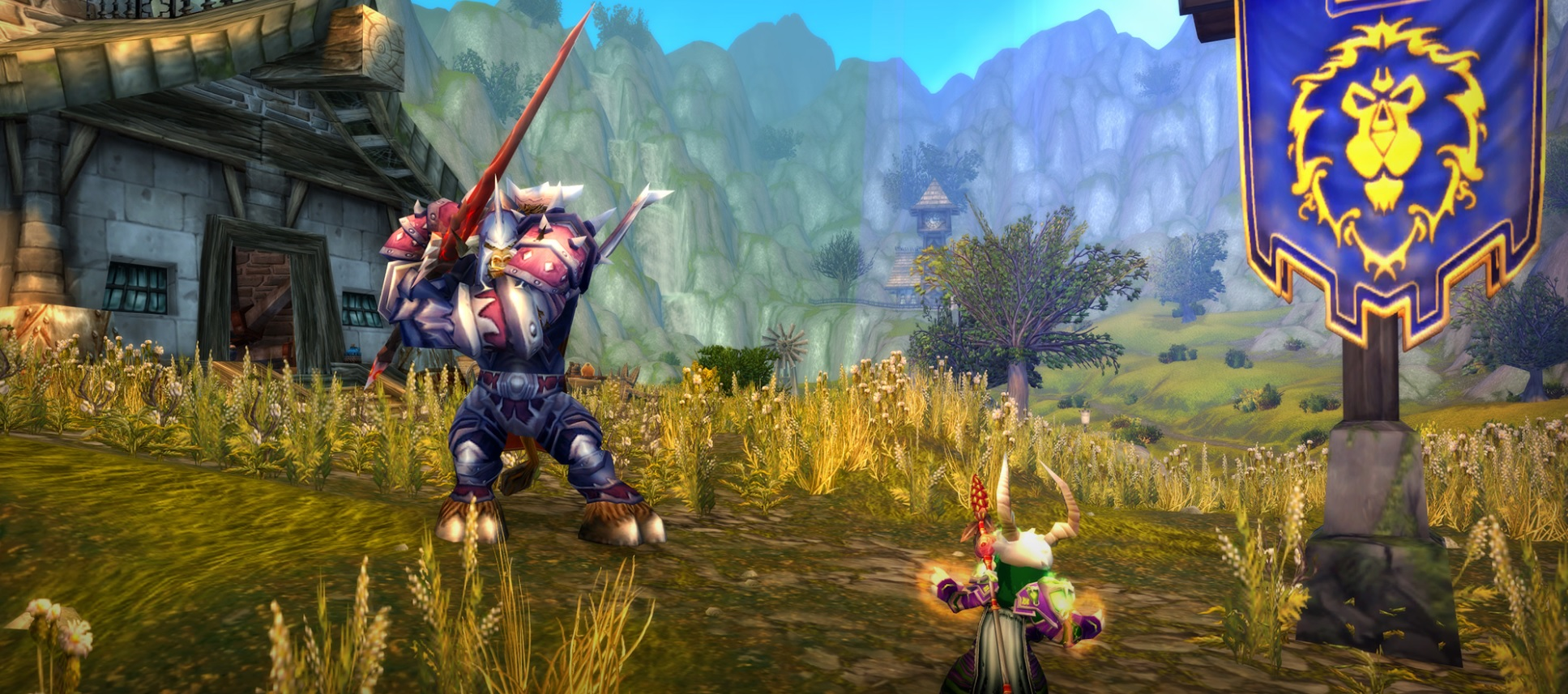 Relive your PVP glory days, as Arathi Basin just arrived in WoW Classic screenshot