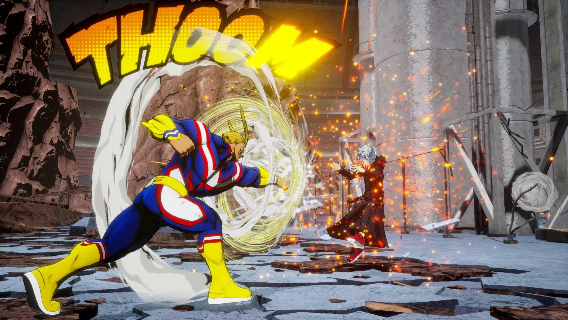 Nintendo Download: My Hero One's Justice 2 screenshot