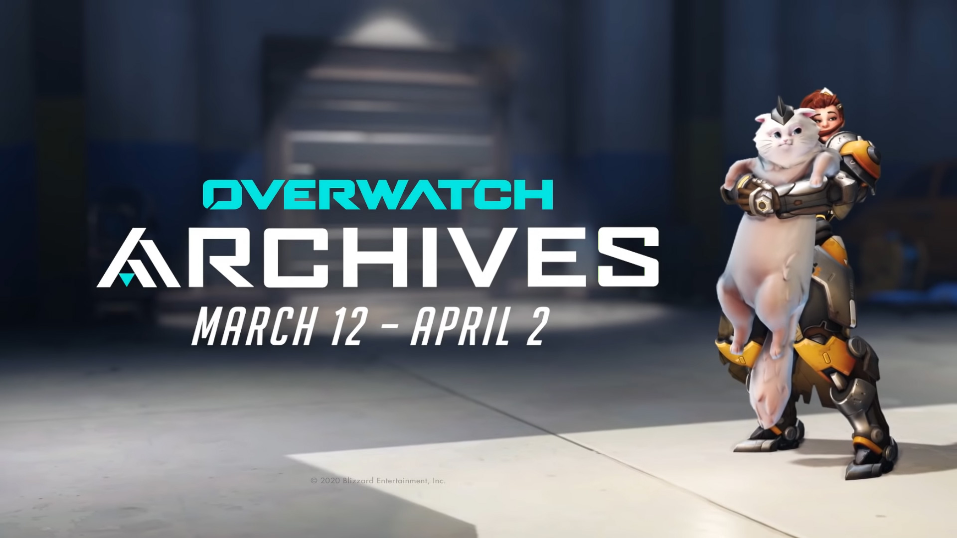 Overwatch Archives 2020 has eight skins and a Jetpack Cat shout-out screenshot