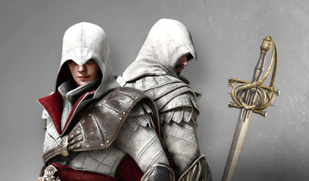 It looks like Assassin's Creed Odyssey is getting a new Ezio costume screenshot