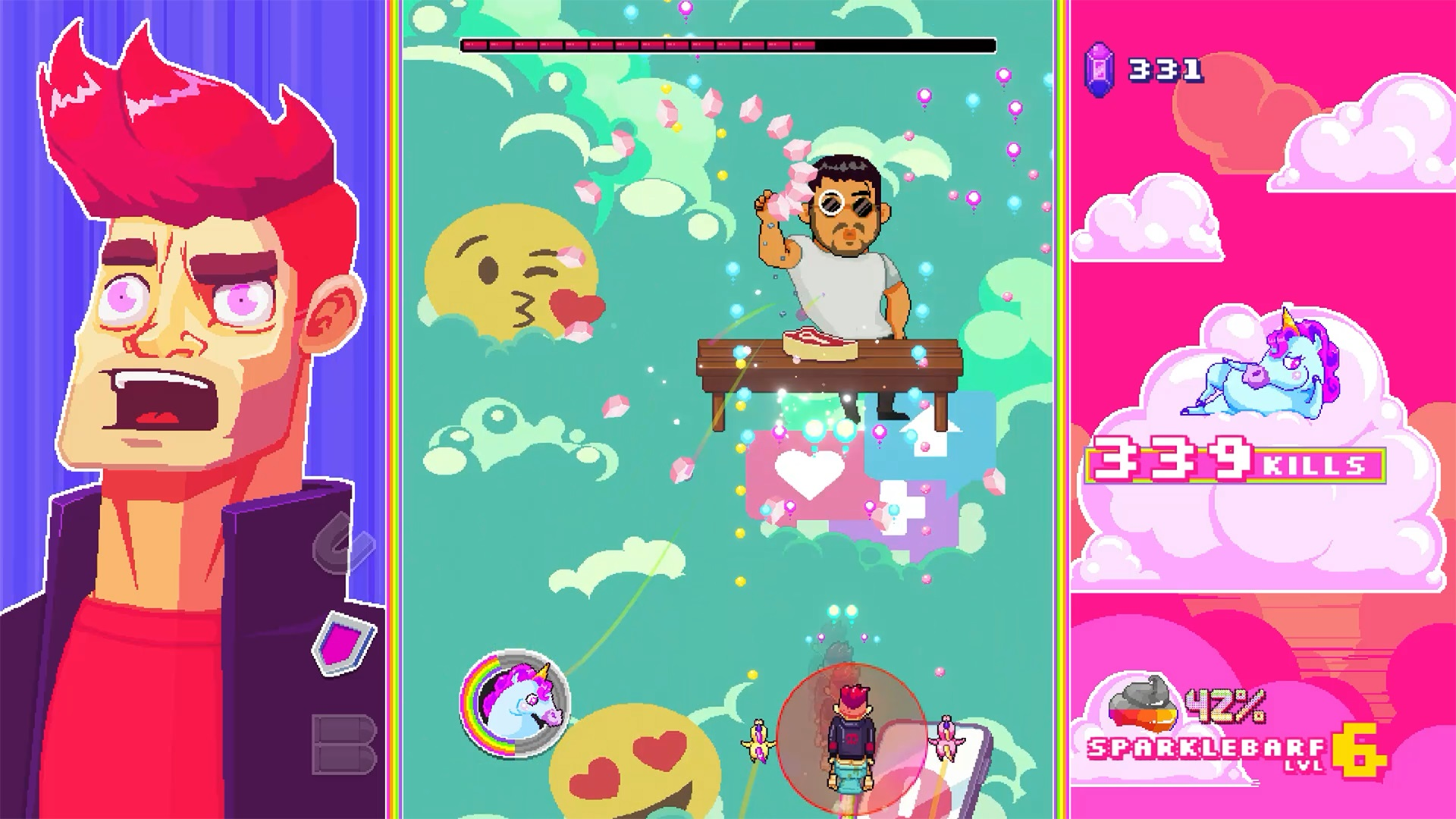 Contest: Yes, we're seriously giving away a game called Rainbows, Toilets & Unicorns screenshot