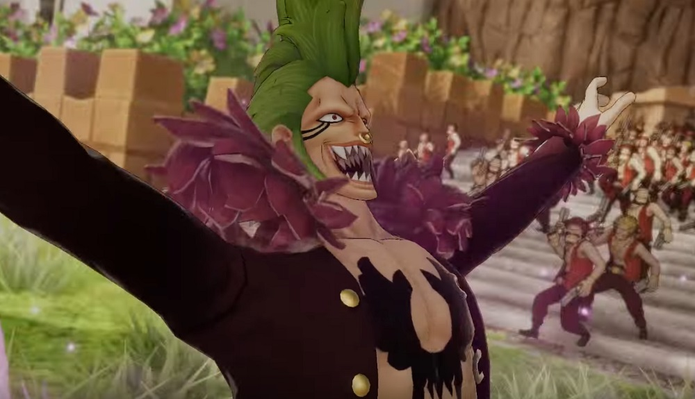 One Piece: Pirate Warriors 4 trailer adds the demonic-looking Bartolomeo screenshot