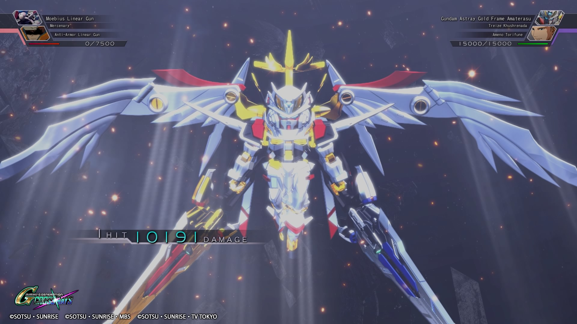 The final DLC pack for SD Gundam G Generation Cross Rays is now available screenshot