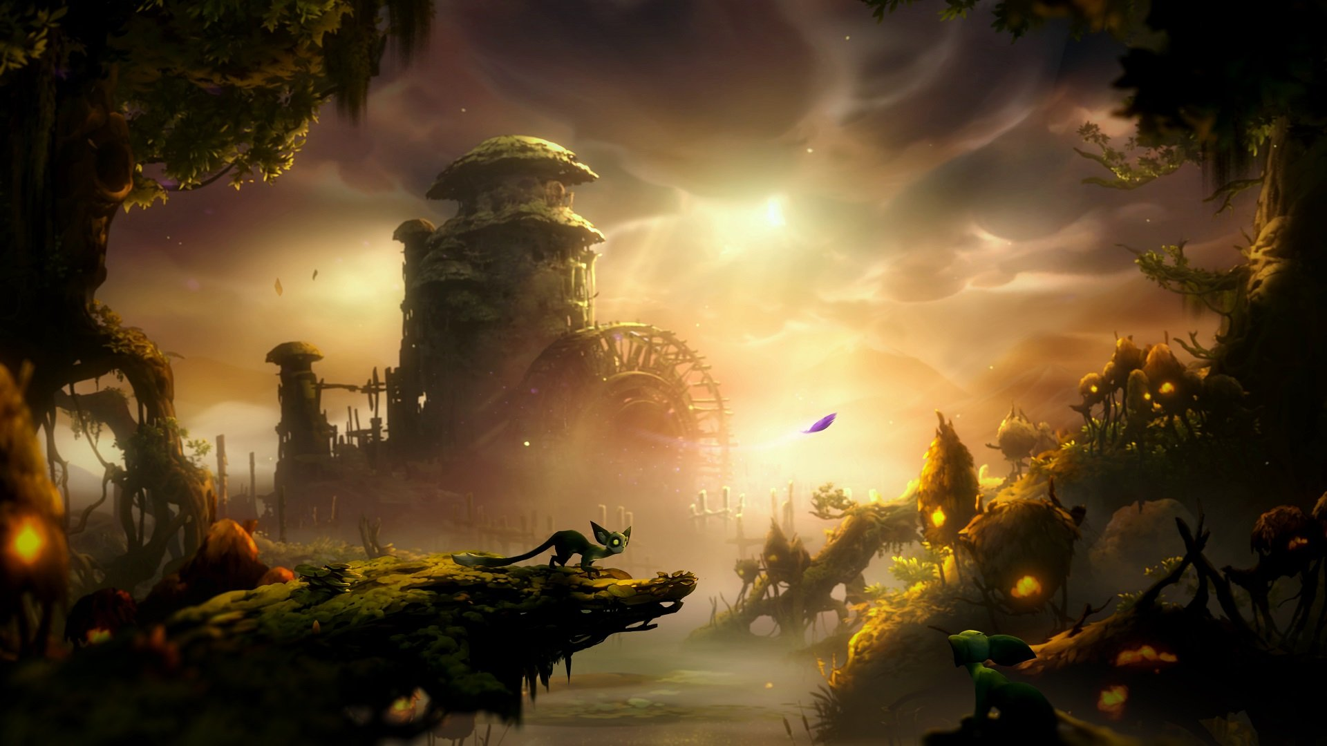 Here's the best place to farm Spirit Light in Ori and the Will of the Wisps screenshot
