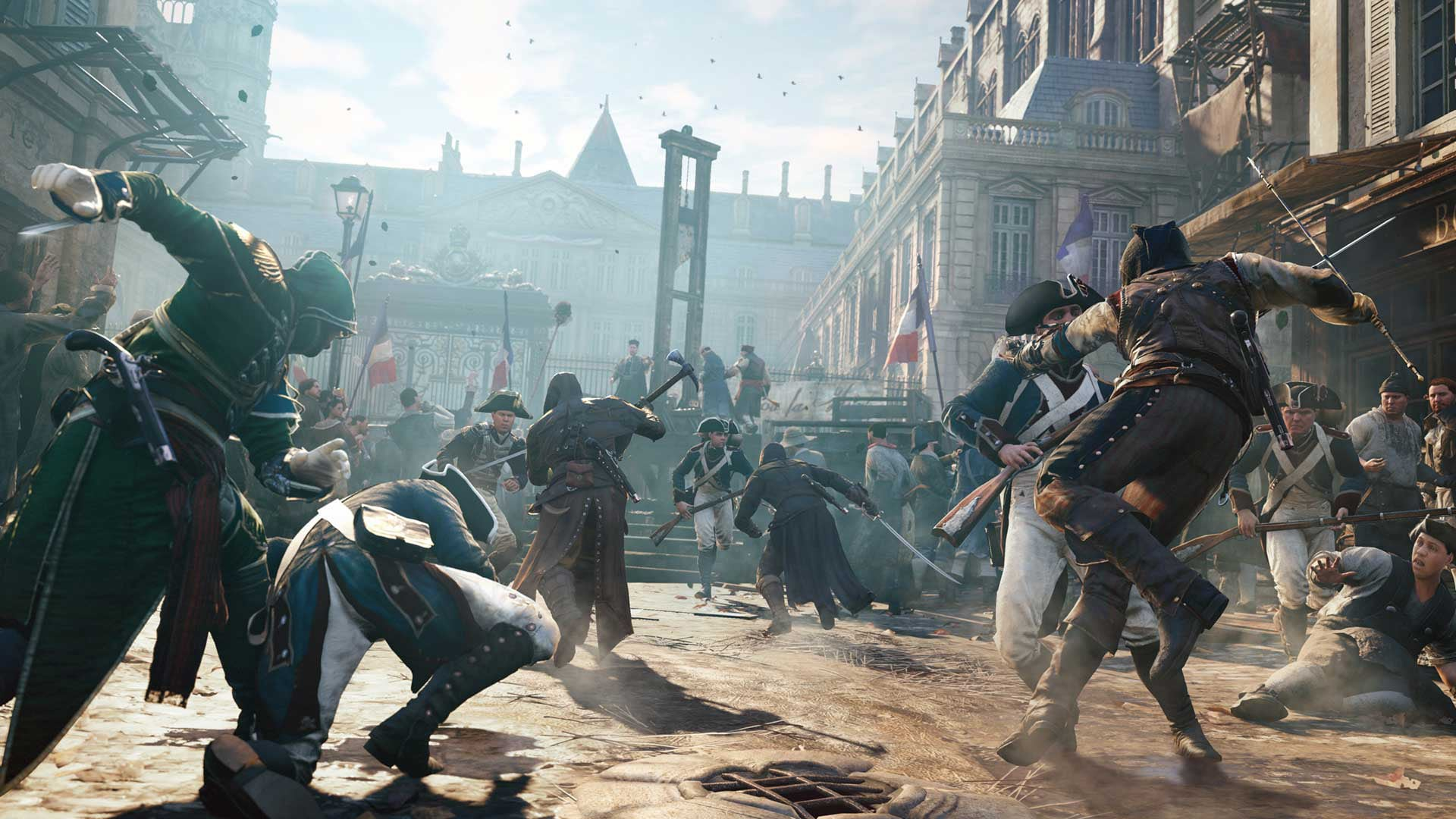 Assassin's Creed Unity was on top of the sales charts in February screenshot