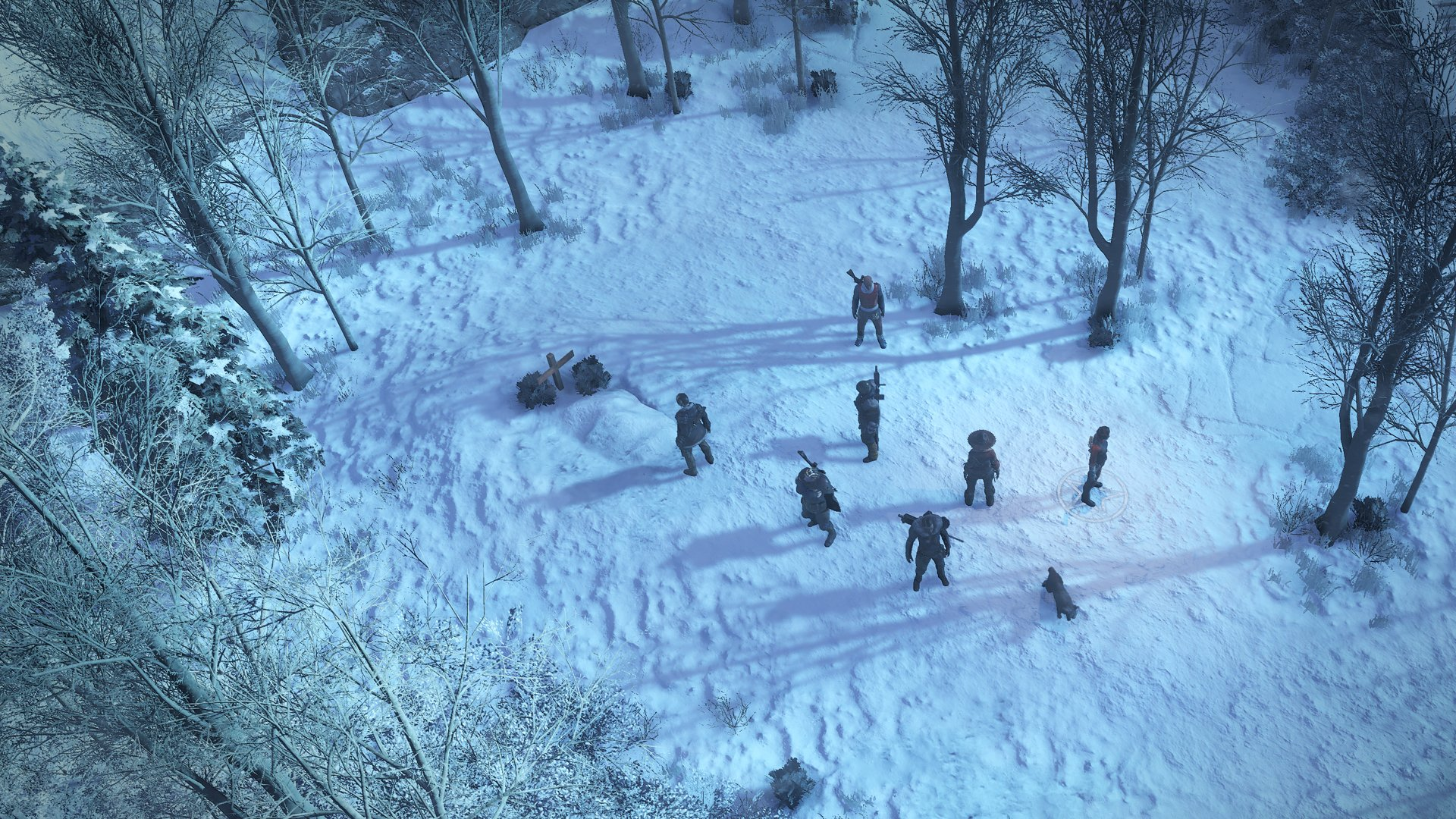 Wasteland 3 trades sand for snow, but has plenty of jank to go around screenshot