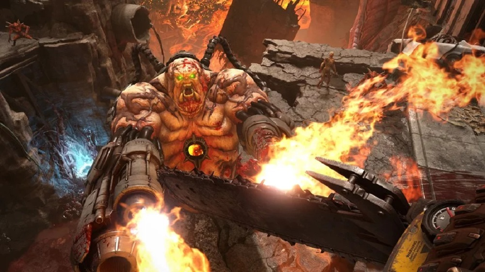 Doom Eternal's decision to exclude 'eons old' Deathmatch explained by Bethesda screenshot
