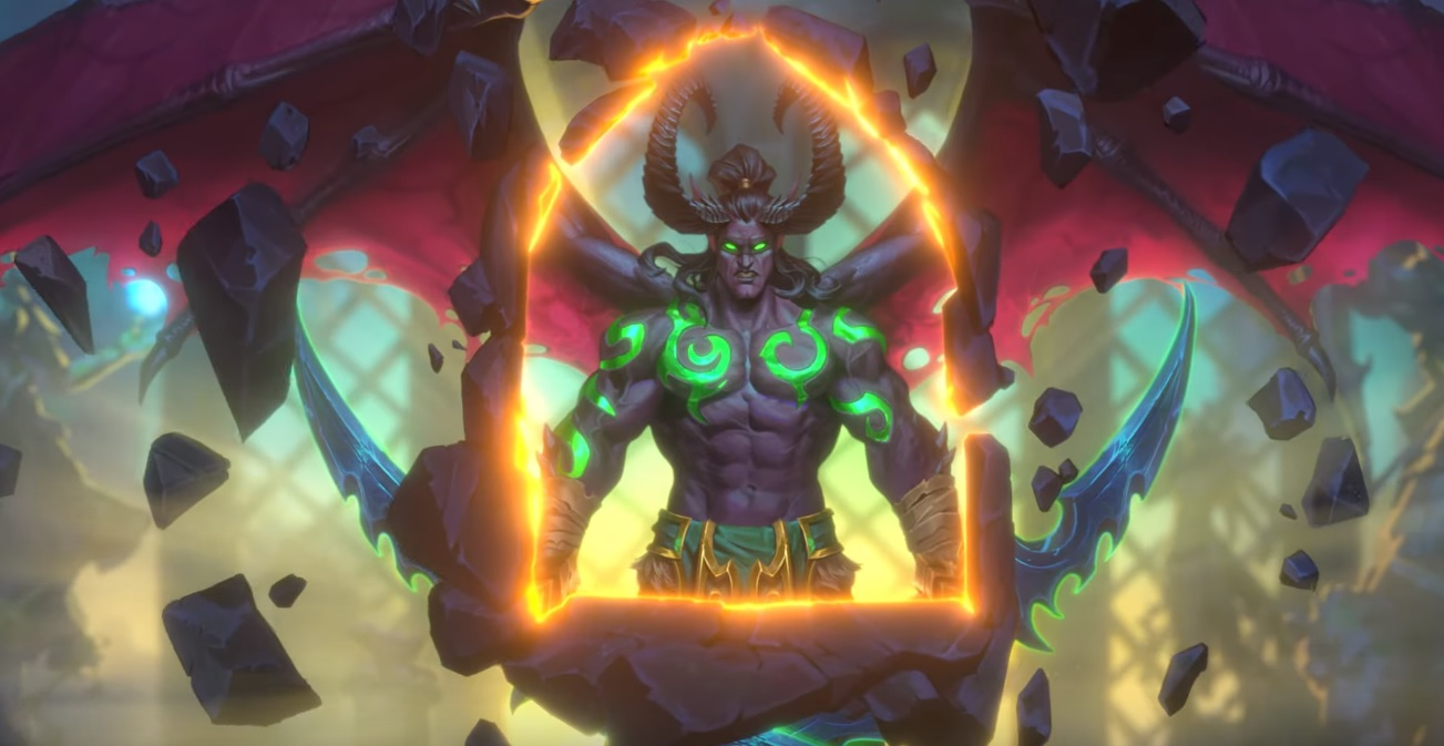 The Demon Hunter is coming to Hearthstone, which will be the first new class since 2014's launch screenshot