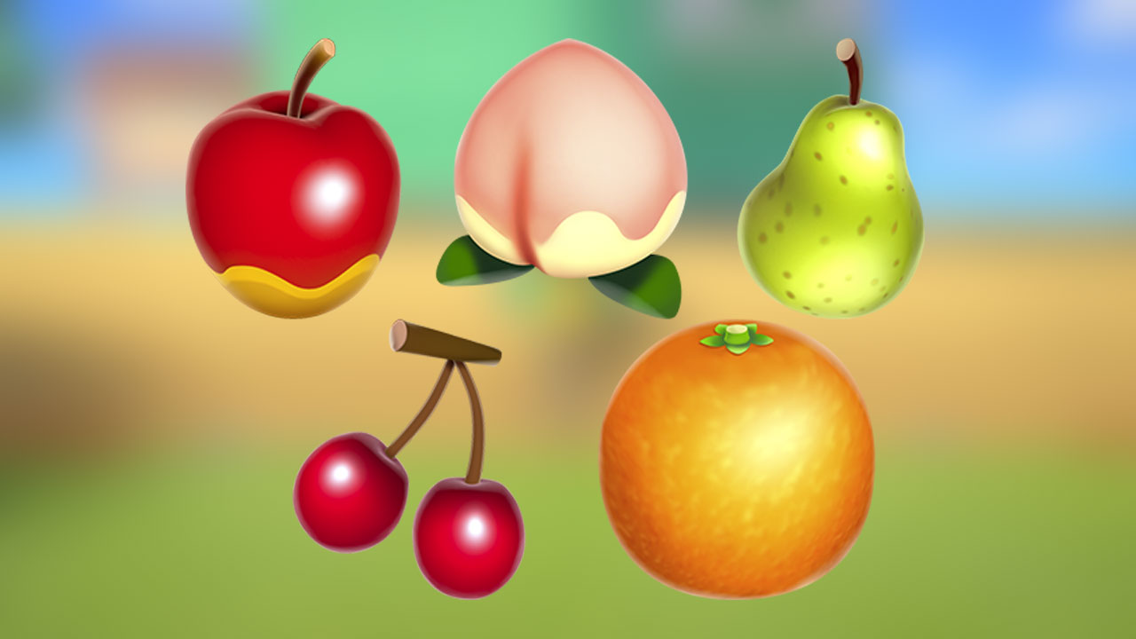 Beware of when you eat fruit in Animal Crossing: New Horizons screenshot