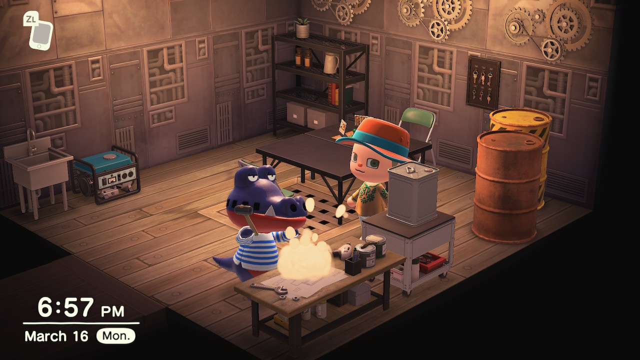 How to score crafting recipes from your neighbors in Animal Crossing: New Horizons screenshot