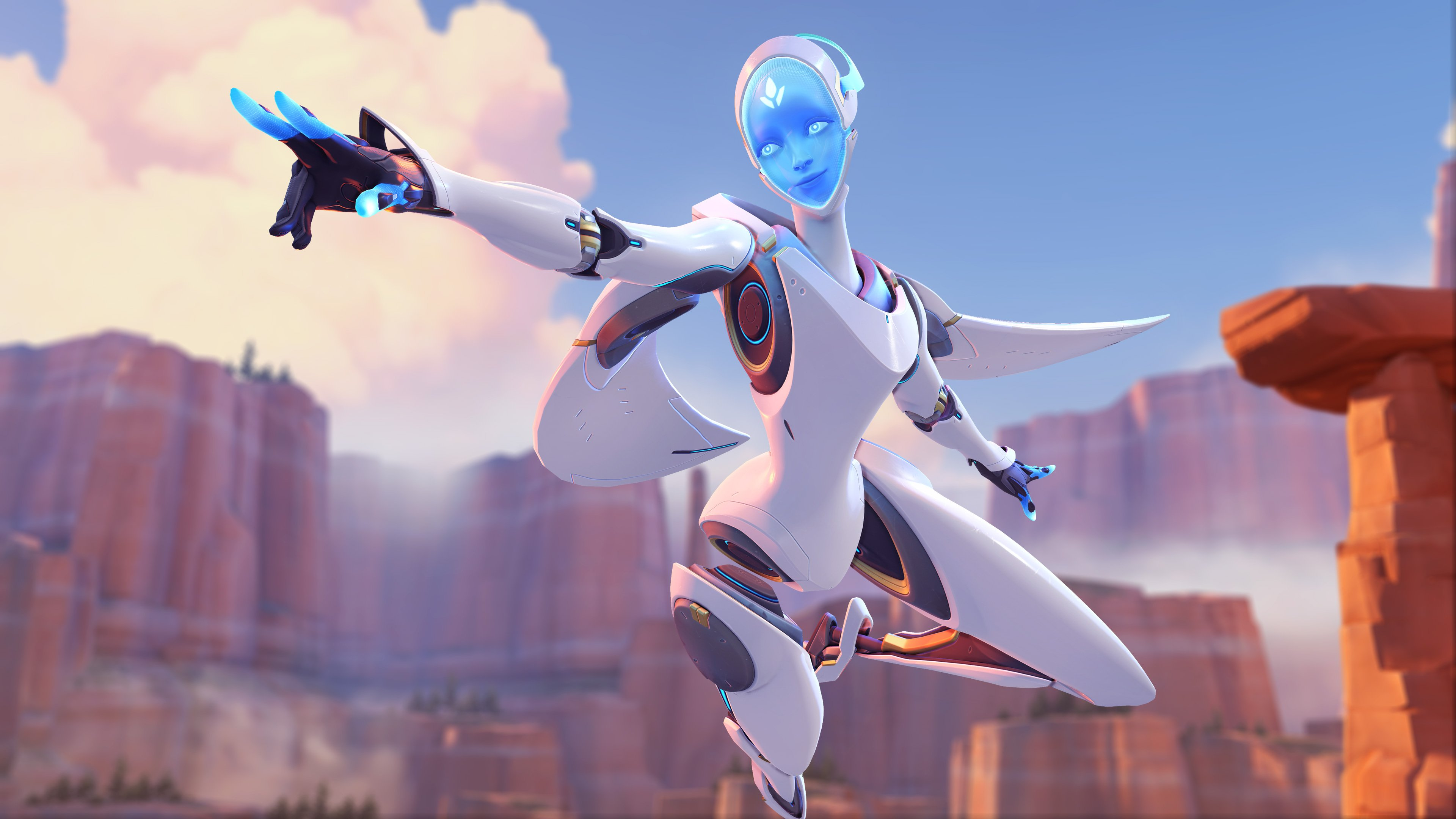 Echo is playable on the Overwatch PTR and her ultimate is nuts screenshot