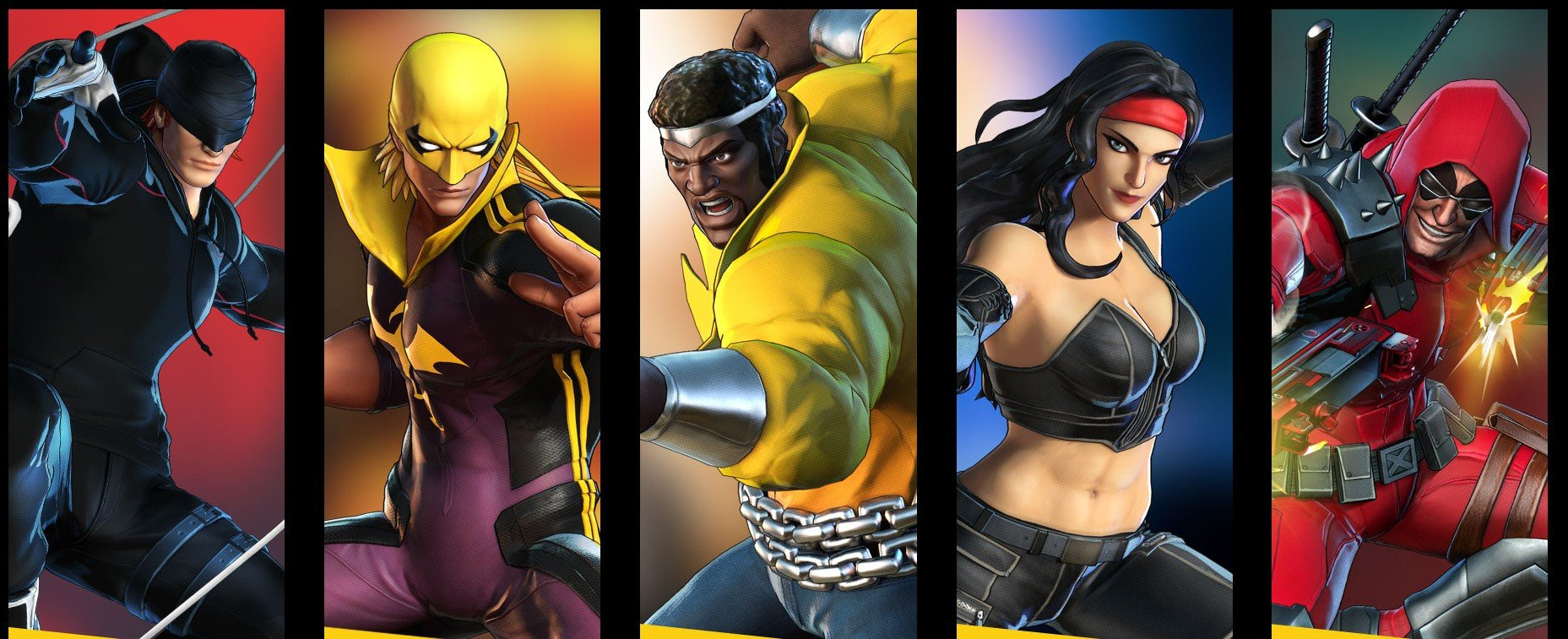 A few Defenders go old school in this new set of Marvel Ultimate Alliance 3 costumes screenshot