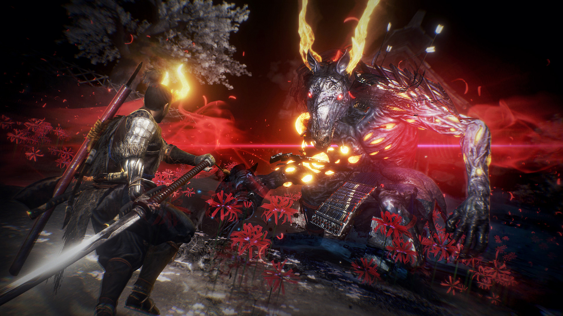 Farm this Nioh 2 mission if you want to hit the level cap screenshot