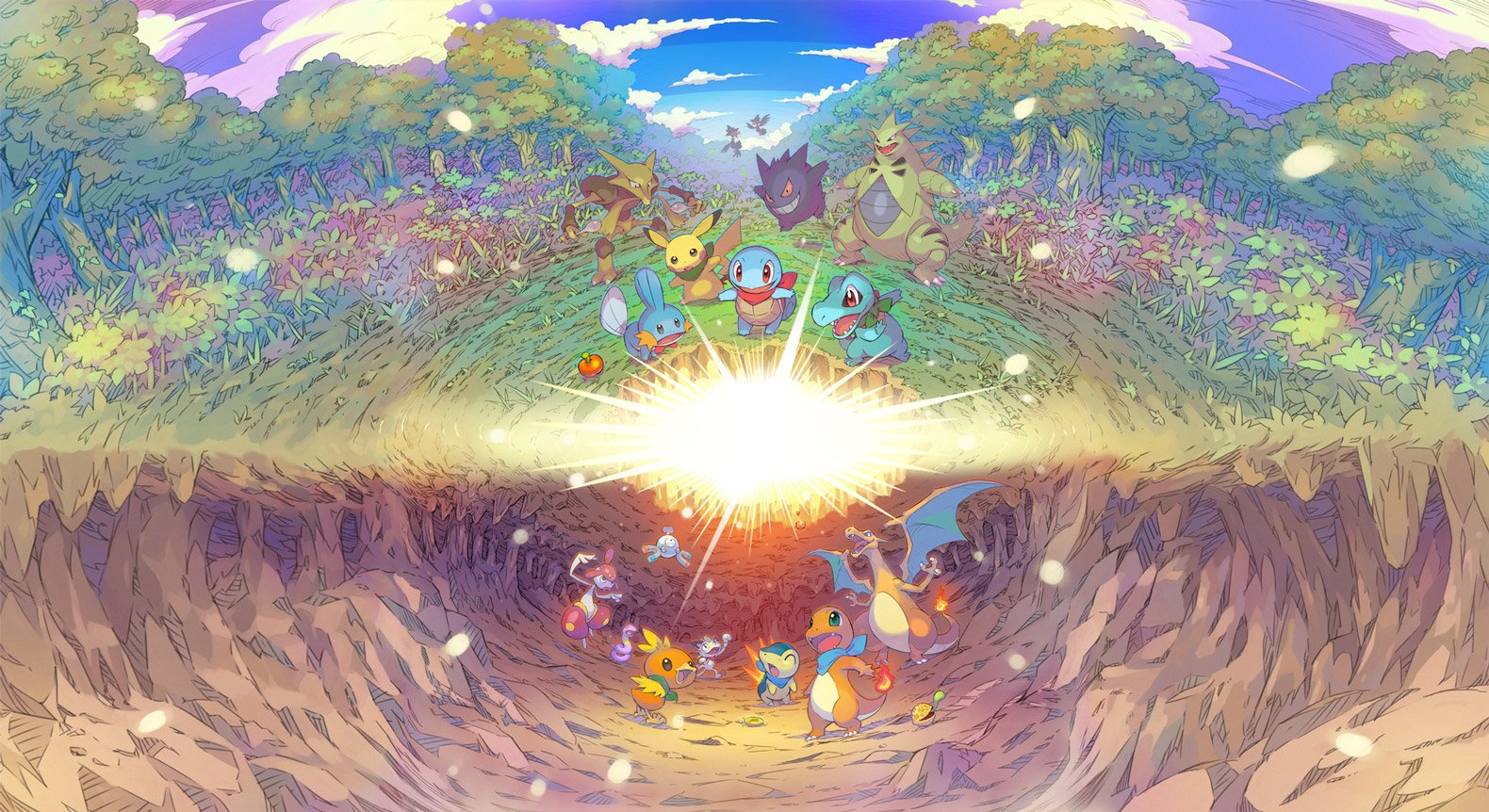 Review: Pokemon Mystery Dungeon: Rescue Team DX screenshot