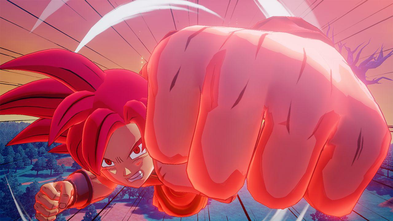 Here's an in-depth look at Dragon Ball Z: Kakarot's Super Saiyan God DLC screenshot