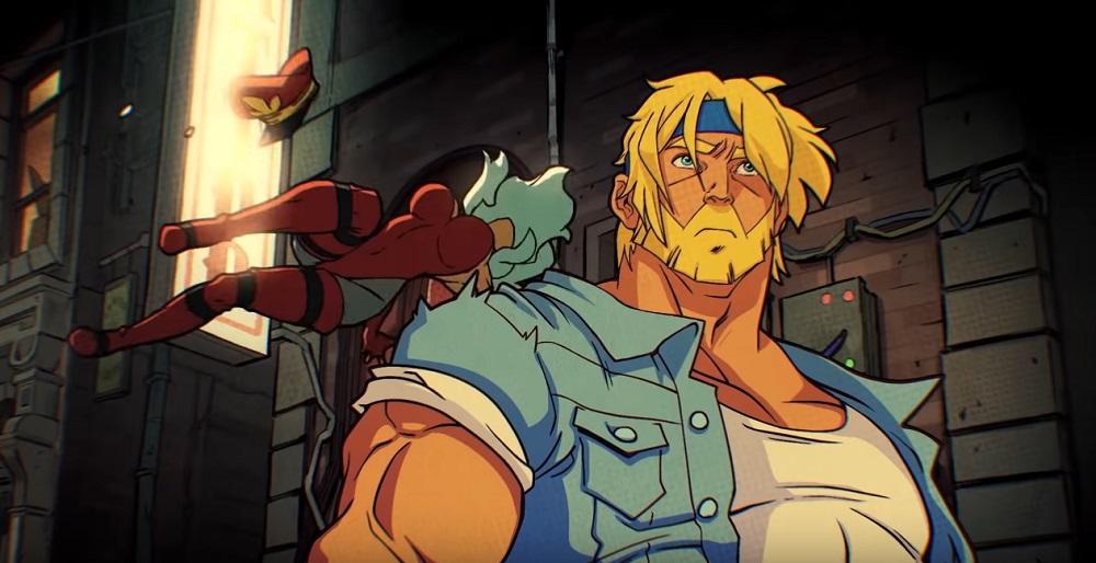 Streets of Rage 4's block rockin' beats composed by Yuzo Koshiro and Olivier Derivière screenshot