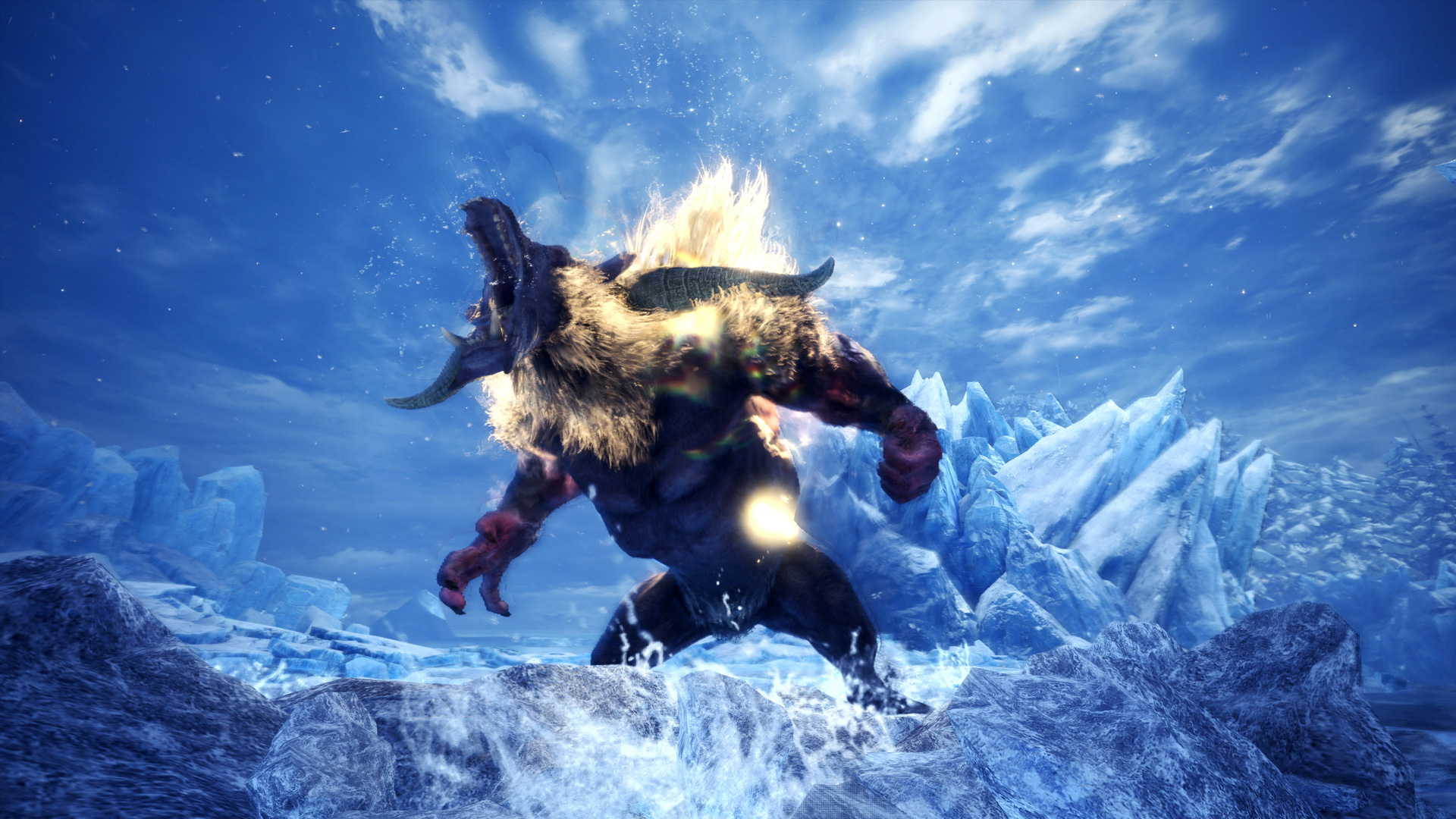 Banishing Balls can scare off pests in Iceborne's Guiding Lands screenshot