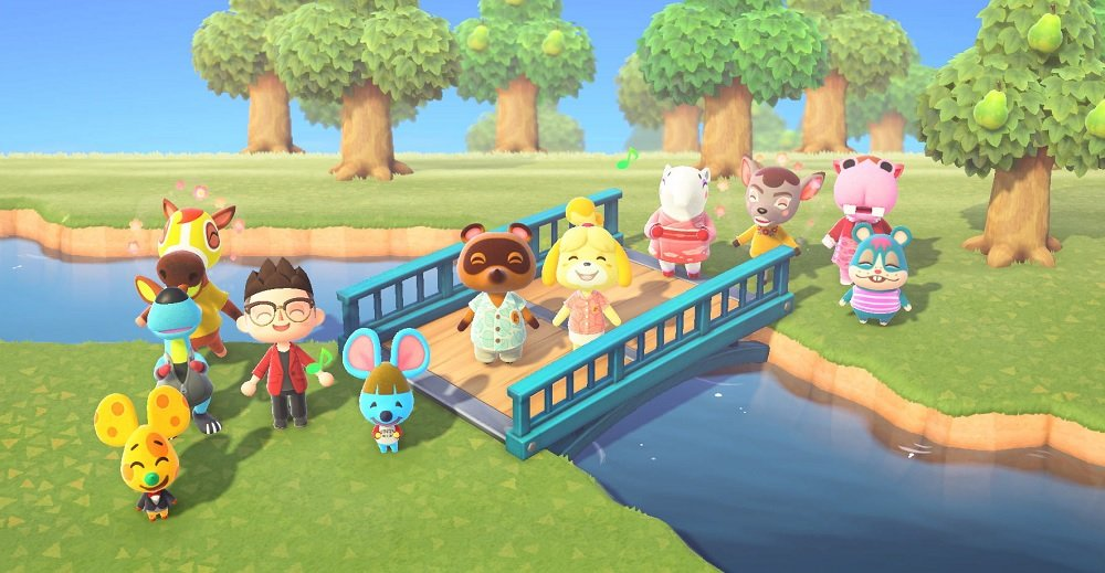 Animal Crossing: New Horizons developers hope players find 'escape' in its joyful world screenshot