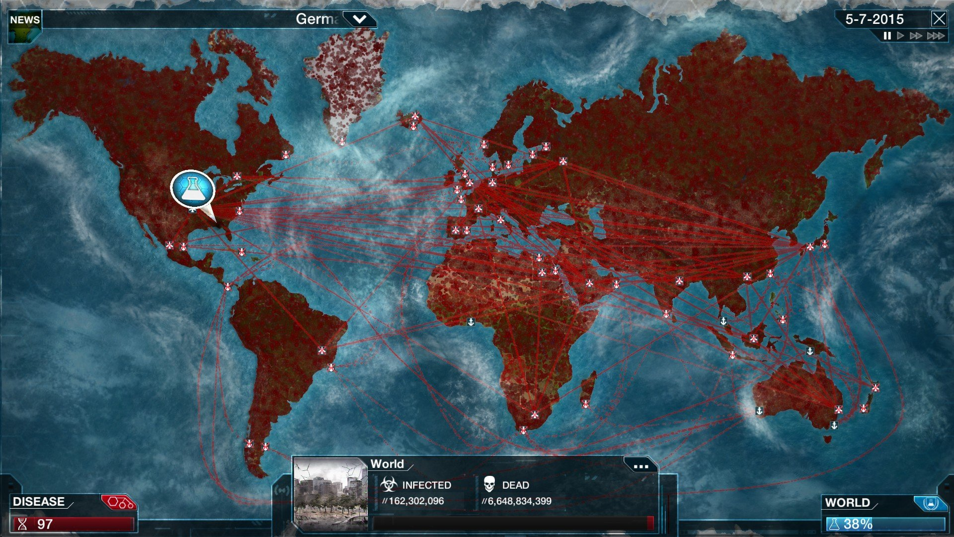 Plague Inc. is getting a free mode where you save the world screenshot