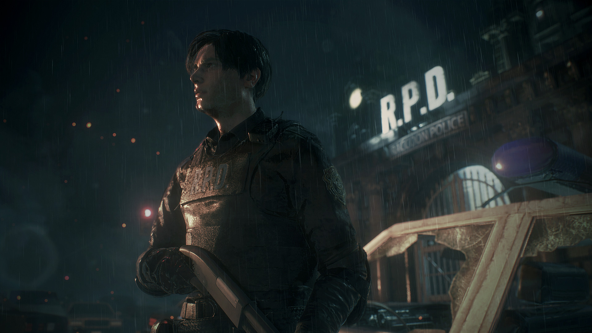 Damn, Resident Evil 2 looks incredible with this ray tracing mod screenshot
