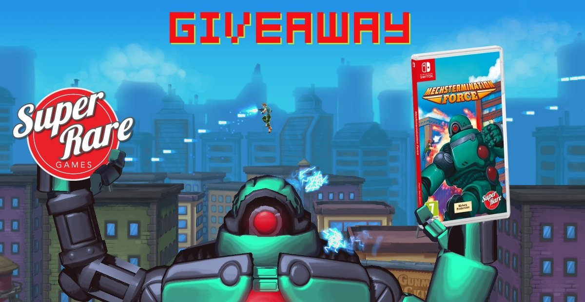 Contest: Take down the robo-empire with Super Rare Games' release of Mechstermination Force screenshot