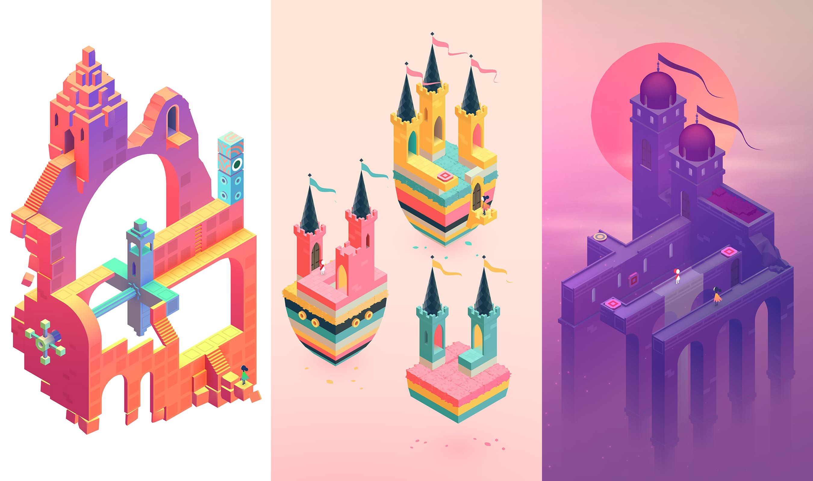 If you're in the mood for a mobile puzzle game, Monument Valley 2 is free screenshot