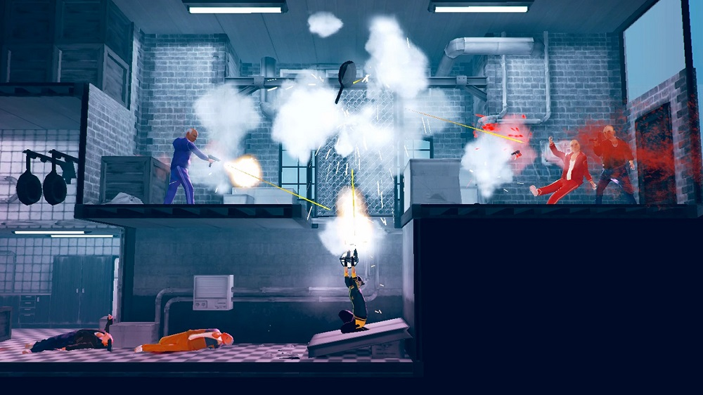 My Friend Pedro brings ballistic action to PS4 this week screenshot