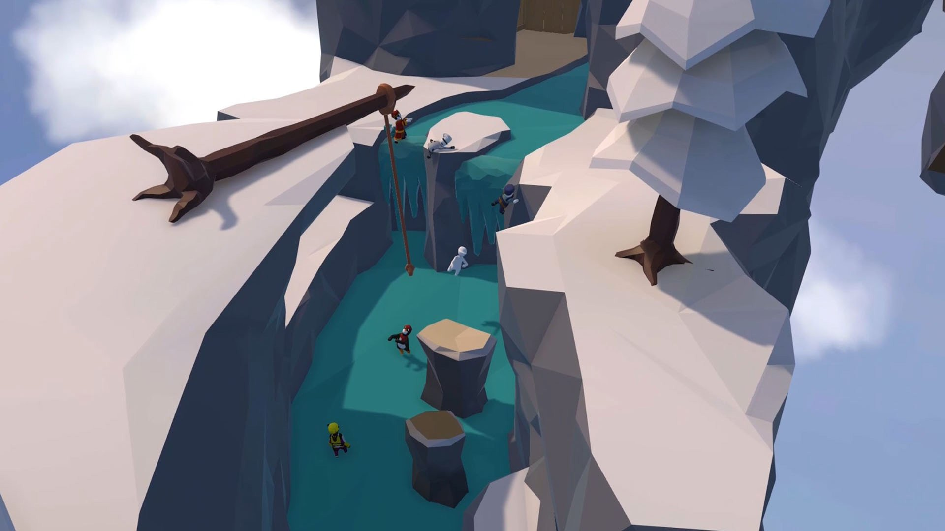 Human: Fall Flat added the contest-winning Thermal level on PC screenshot