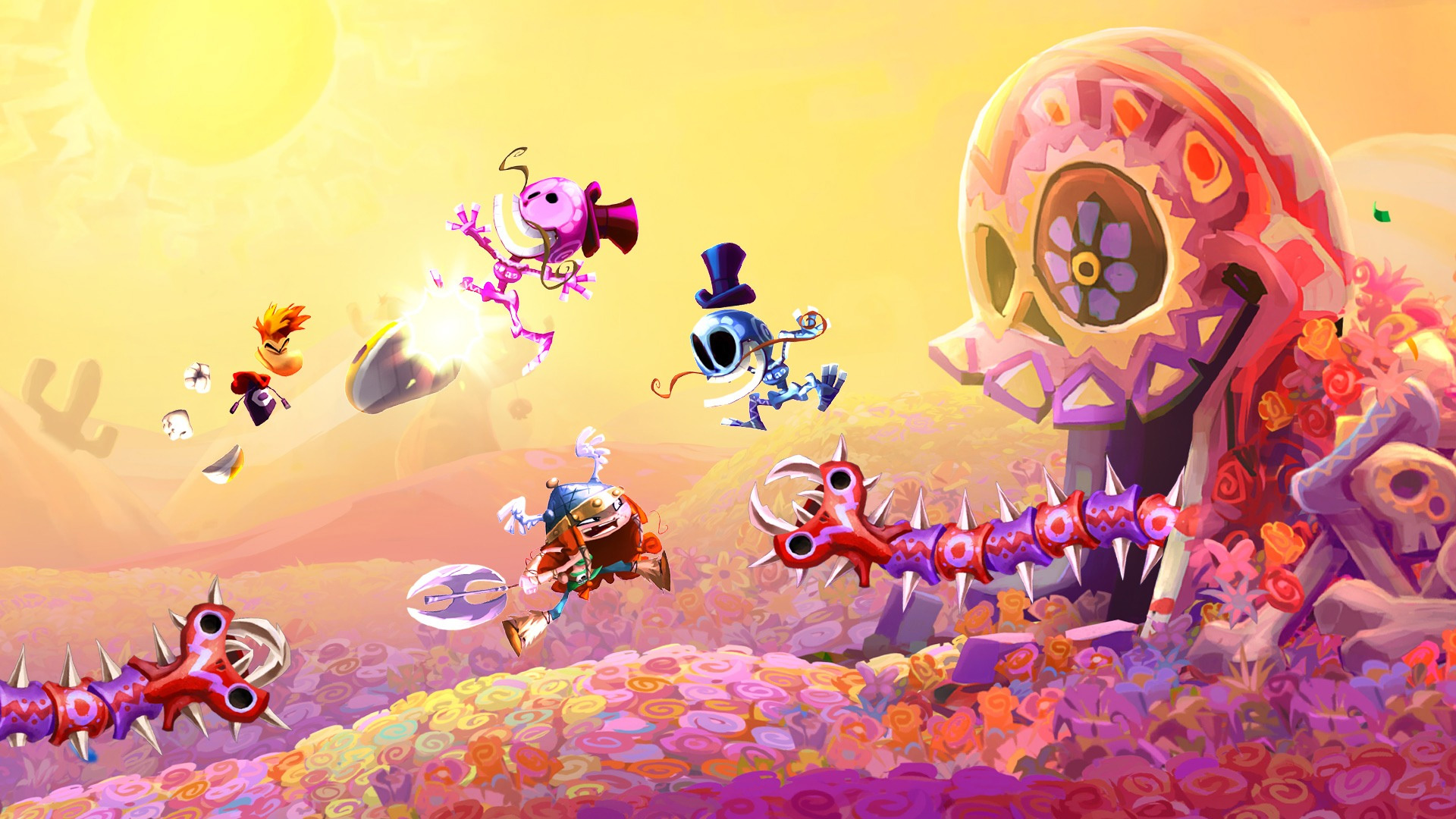 If you never got around to Rayman Legends, it's free on PC screenshot