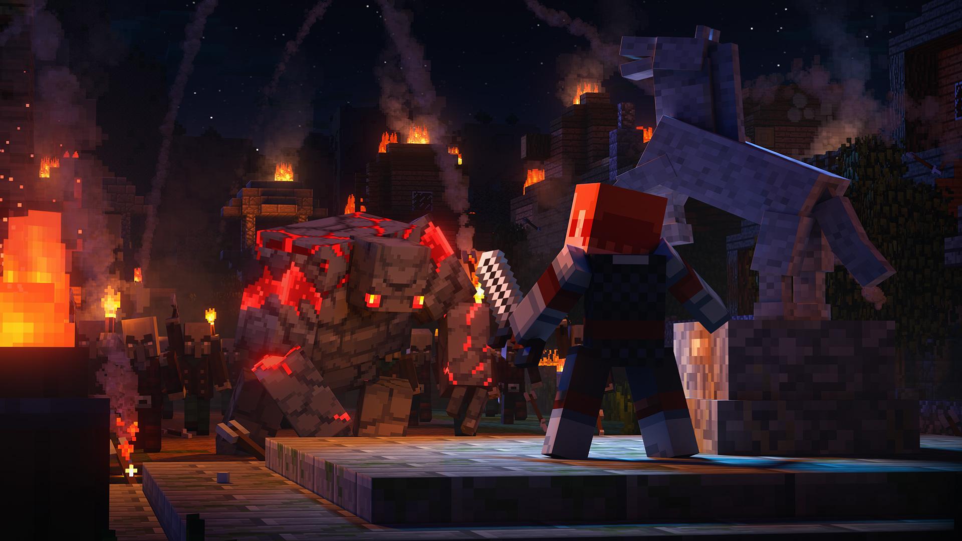 Minecraft Dungeons slips to May 26, 2020 screenshot