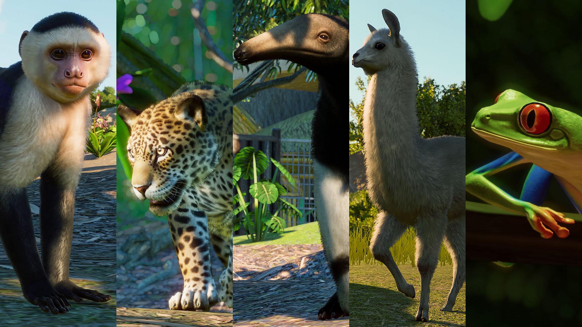 Planet Zoo's South America Pack adds a few fan favorites screenshot