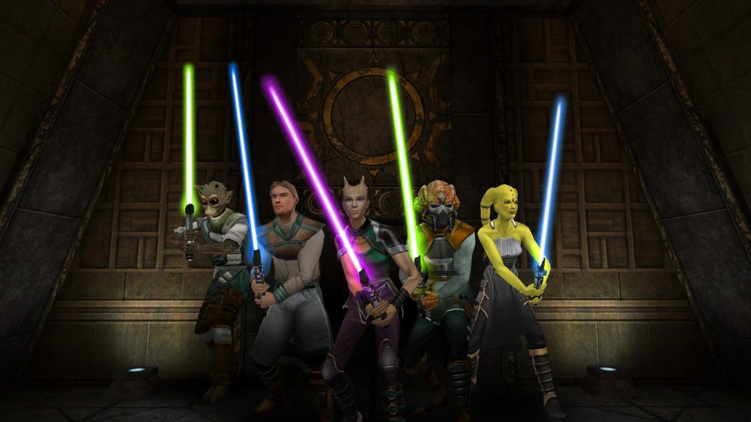 Jedi Academy Switch studio intends to fix an oversight that allows PC players to wipe the floor with Switch users screenshot