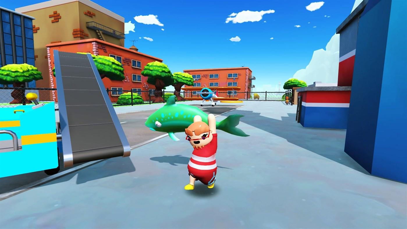 Totally Reliable Delivery Service is like a Goat Simulator + Human: Fall Flat combo, and it's free on Epic screenshot