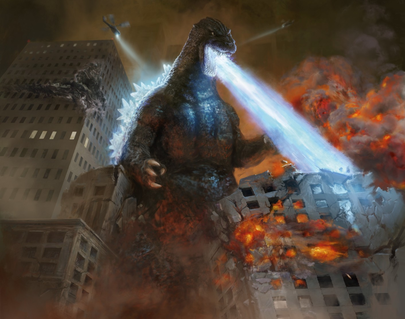 Oh my Godzilla...the King of Monsters is invading Magic: The Gathering screenshot