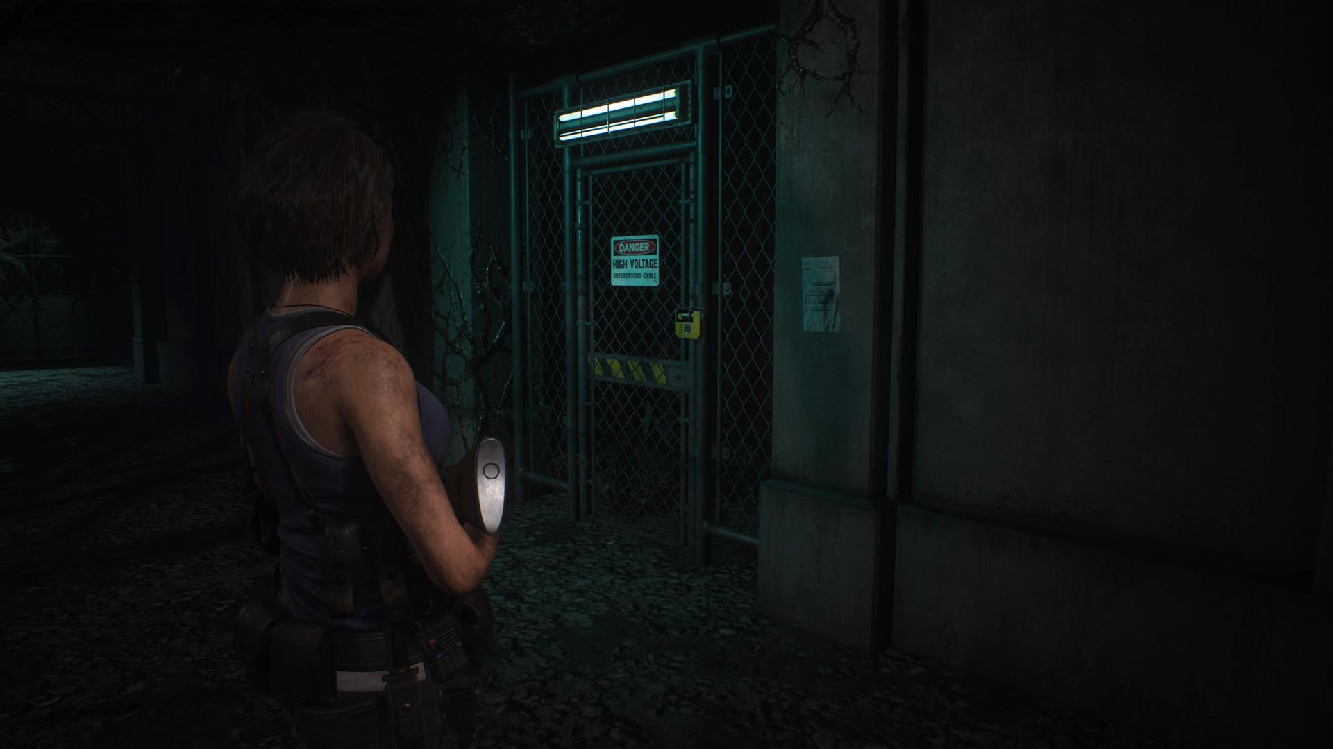 You can easily farm Resident Evil 3 unlocks at the substation screenshot