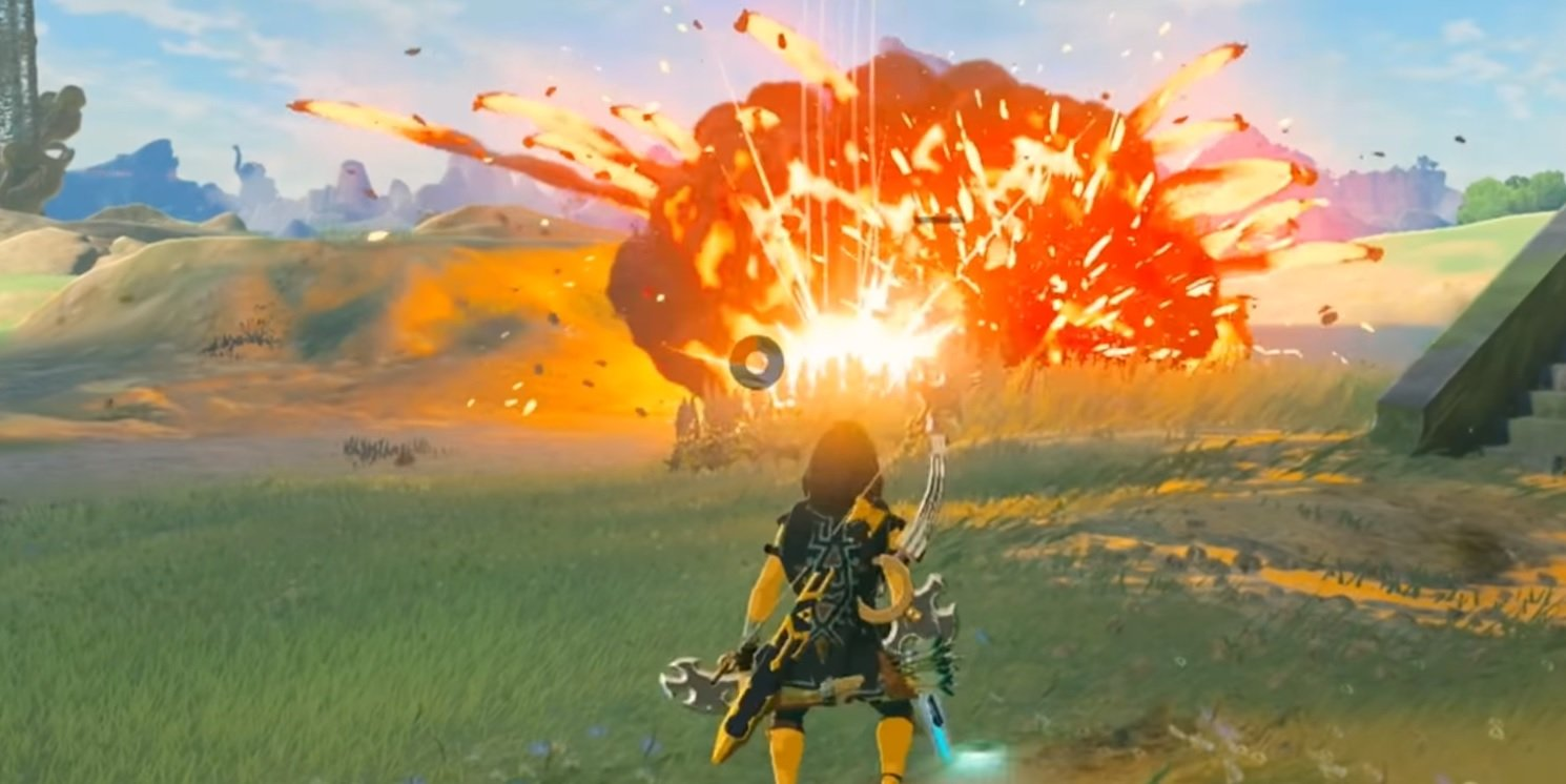 Like all the crazy Zelda: Breath of the Wild videos? Here's a slick 10 minute montage that took six months to make screenshot