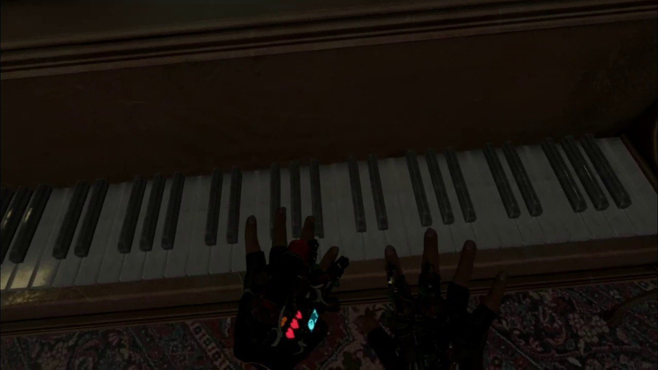 My new lane is watching people play music on Half-Life: Alyx's piano