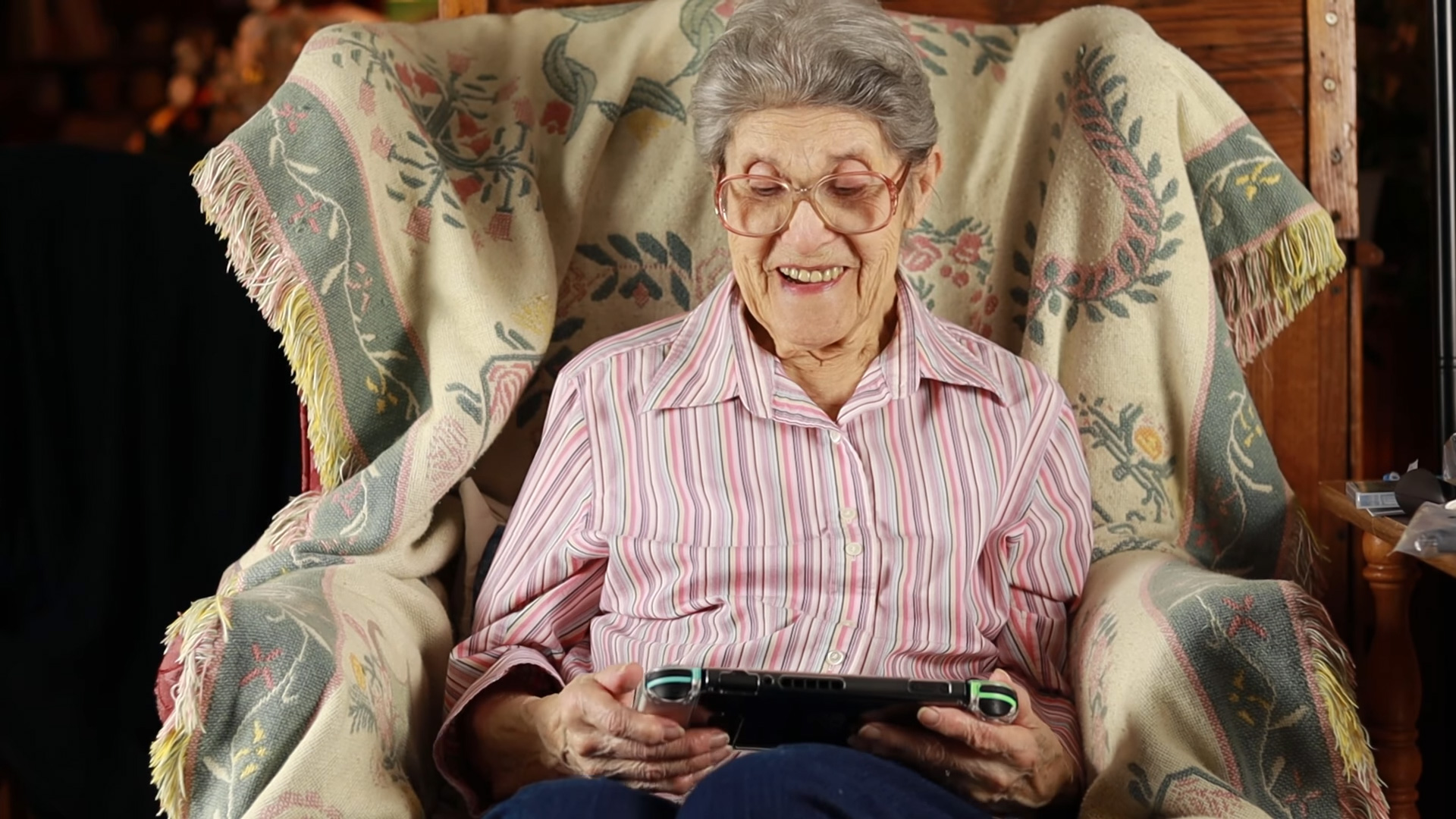 Everyone's favorite Animal Crossing grandma got New Horizons screenshot