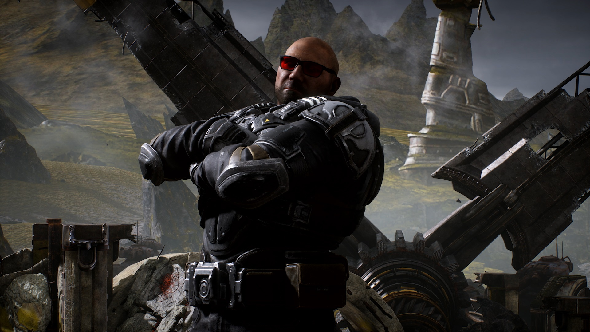 The Batista Bomb is the most incredible Gears 5 execution screenshot