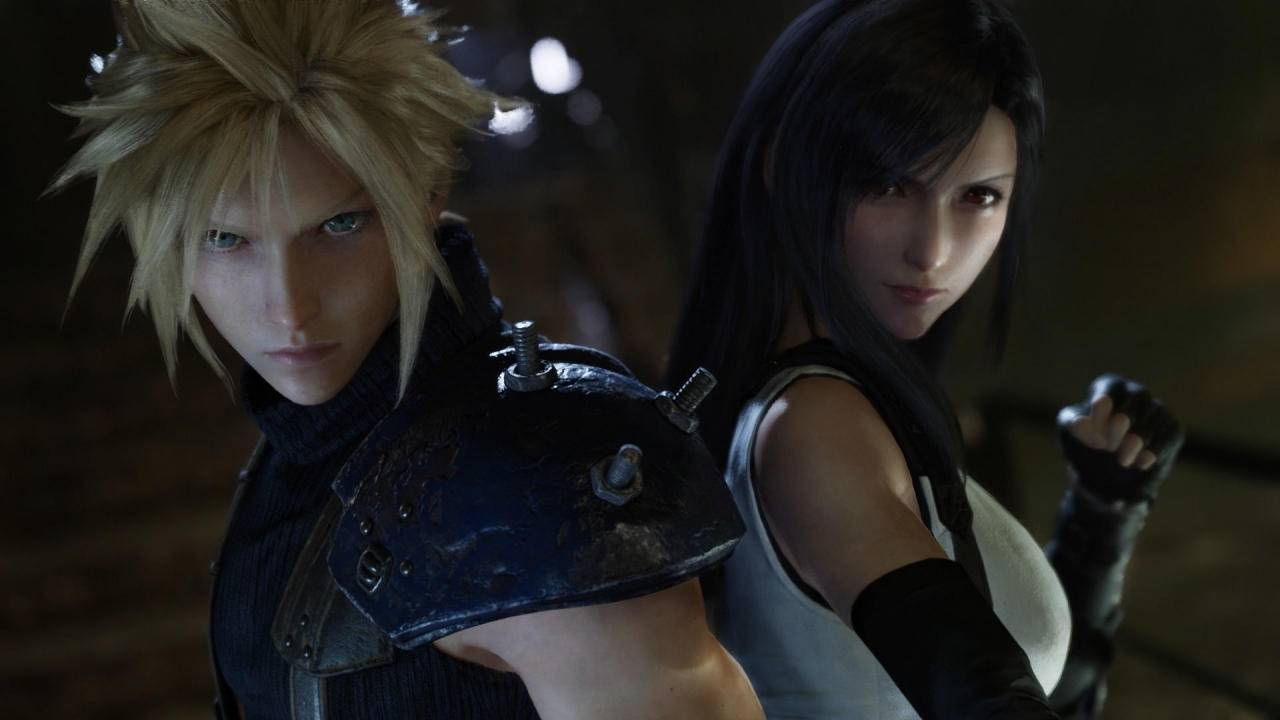 These two scenes perfectly encapsulate the spirit of Final Fantasy VII Remake screenshot